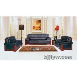 北京 高档真皮办公沙发 现代简约办公接待会客沙发