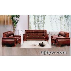 北京 简约现代办公皮沙发 办公沙发 会客真皮沙发