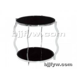 北京君发永旺 钢化玻璃边桌 创意小茶几 厂家直销