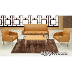 北京 简约现代真皮办公沙发 接待会客厅商休闲务沙发