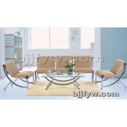 北京 钢架办公沙发 简约休闲办公室沙发布艺商务沙发