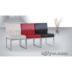 北京君发永旺 不锈钢钢架座椅沙发 休闲办公沙发