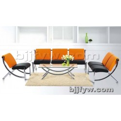 北京 现代简约会客办公沙发 简易休闲办公会议沙发