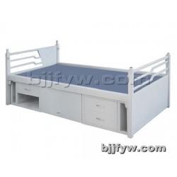 北京 铁艺单人床 单层床硬板床 学生床员工床 带鞋柜单人床