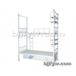 北京君发永旺 铁艺床 学生高低床 加厚员工 床双层成人铁床
