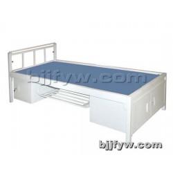 北京君发永旺 单人床铁艺 宿舍学生床 硬板床员工床