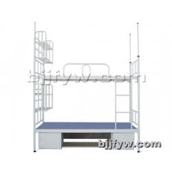 北京 加厚铁床 上下铺宿舍双层床 铁艺成人组合