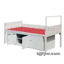 北京 公寓床 学生床 员工床 宿舍床带鞋柜