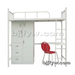 北京君发永旺 宿舍上下床 高低铺书桌衣柜电脑桌组合公寓床