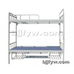 北京 上下铺铁床 双层床 加厚员工宿舍床 高低单人床
