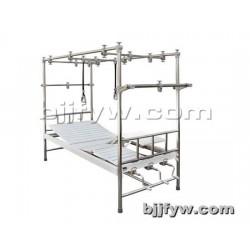 北京 不锈钢圆管新型牵引床 医用不锈钢架骨科床 厂家直销
