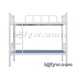 北京 加厚上下床 双层铁床 成人高低床 员工宿舍上下铺铁架床