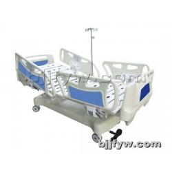 北京 ABS床头铝合金护栏中控手动双摇护理床 厂家直销