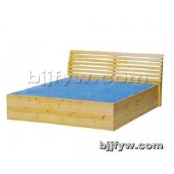 北京君发永旺 实木双人床 简约实木床 厂家直销