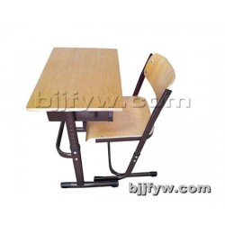 北京 加厚单人可升降课桌椅 中小学学习桌家用补习桌