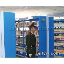 北京 钢制书架 书店学校图书馆图书室阅览室单面双面校用书架