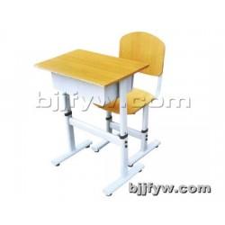 北京 可升降学生培训课桌椅 多层板加课桌椅