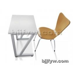北京君发永旺 课桌椅 学生桌椅 学校学生单人双人培训桌椅