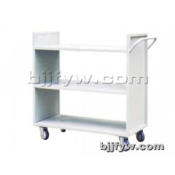 北京君发永旺 三级平面书车 钢制静音平板书车 厂家直销