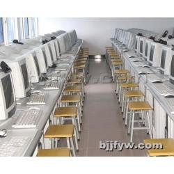 北京 多媒体桌 台式电脑桌 学校多媒体教室培训桌