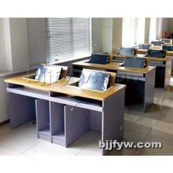 北京 翻转电脑桌 培训电脑翻转桌 办公多媒体教室翻转电脑桌
