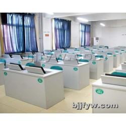 北京 液晶屏翻转电脑桌 教室培训桌翻转 多人会议桌面翻转