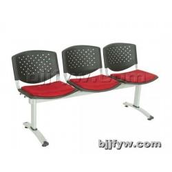北京君发永旺 三人位排椅 机场等候椅 连排座椅 银行椅子
