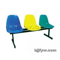 北京 户外学校连排椅 塑料公共候车长椅 等候医院候诊椅