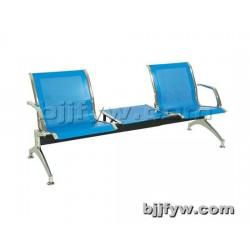 北京君发永旺 排椅等候椅 不锈钢公共座椅 三人位连排椅