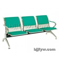 北京 三人位铝合金排椅 机场椅 等候椅 候诊椅 连排座椅