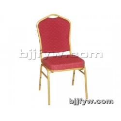 北京君发永旺 钢架布艺餐椅 简约时尚餐椅 厂家直销