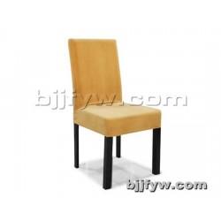 北京 现代简约餐椅 餐桌椅子组合 绒布艺四腿餐椅