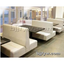 北京 奶茶店卡座 布艺咖啡厅沙发椅 西餐厅饮品店桌椅组合