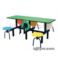 北京 食堂餐桌椅 快餐桌椅 餐桌椅 连体餐桌椅