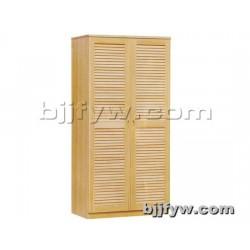 北京 实木衣柜两门 简约现代实木大衣柜