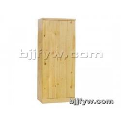 北京君发永旺 实木衣柜 两门衣橱 松木衣柜 厂家直销