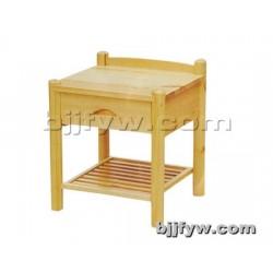 北京 简约现代实木收纳储物柜 卧室床边柜迷你床头柜