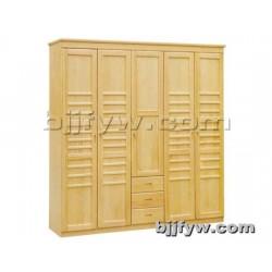 北京 实木质大衣柜 板式衣橱卧 室组装衣橱