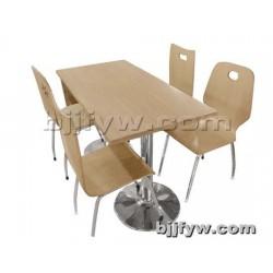 北京 快餐桌 饭店食堂餐桌椅组合 厂家直销