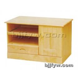 北京君发永旺 实木电视柜组合 简约储物柜 卧室柜