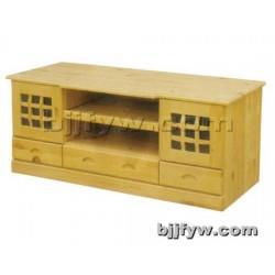 北京 实木电视柜组合 简约储物柜 矮地柜 卧室柜