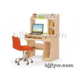 北京君发永旺 台式家用电脑桌 带书架时尚板式书桌