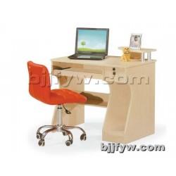 北京 环保板式书桌 台式电脑桌 台式家用时尚带书架办公桌子
