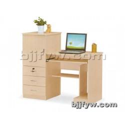 北京君发永旺 时尚环保板式书桌电脑桌  简约家用台式电脑桌