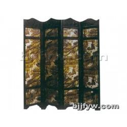 北京 现代屏风 办公室客厅中式双面屏风 可移动折叠隔断屏障