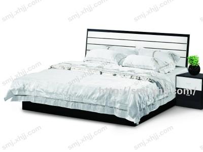 1.5*1.9米黑色高箱床