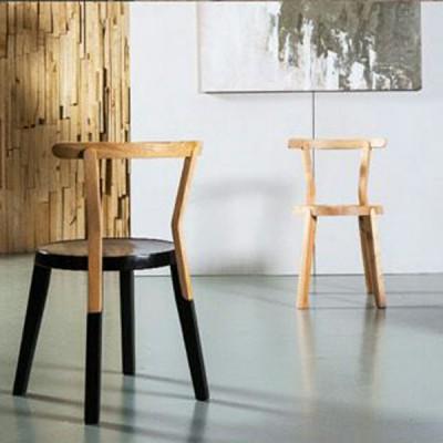 慕友DAaZ北欧原创个性白蜡实木餐椅原生态木蜡油香河专卖店