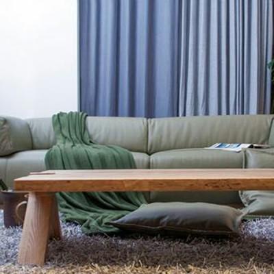 慕友DAaZ北欧原创个性白蜡实木沙发原生态木蜡油香河厂家直销