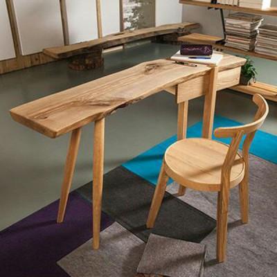 北欧原创个性白蜡实木书桌原生态木蜡油香河专卖店