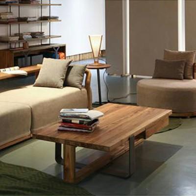 慕友DAaZ北欧原创个性花楸棉麻布艺沙发木蜡油香河专卖店